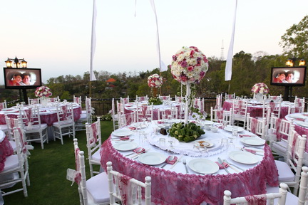 Decorations bali luxury private villas in uluwatu for Bali wedding decoration hire